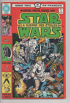 STAR WARS #2 french comic français HERITAGE Moon Knight/Power-Man & Iron Fist