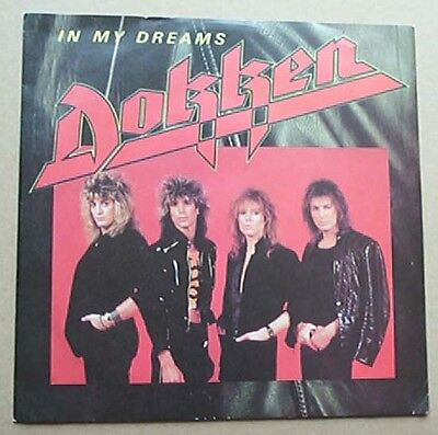 "Dokken In My Dreams 7"" P/s Uk"