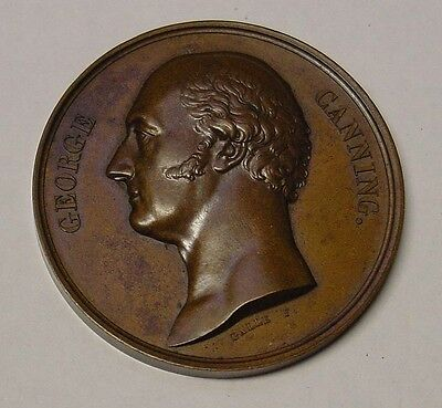 1827 George IV. Death of George Canning, by A.Galle. EF.