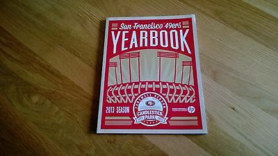 San Francisco 49ers 2013 Yearbook Farewell to Candlestick Park RARE