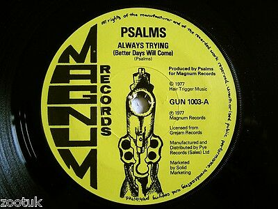 PSALMS (Gaylads) * Always Trying * MAGNUM 1977