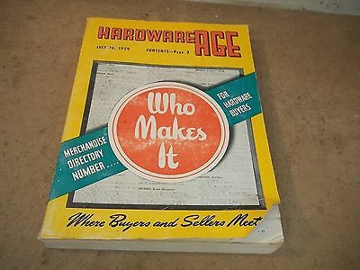 1959 Hardware Age Dealer Directory Who Makes It ? Guide