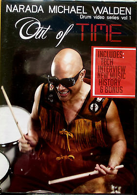 NARADA MICHAEL WALDEN Out Of Time Drum Vol 1 Explores Different Styles Odd Meter