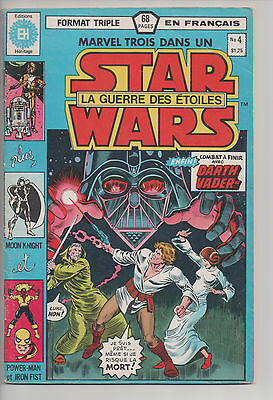 STAR WARS #4 french comic français HERITAGE Moon Knight/Power-Man & Iron Fist