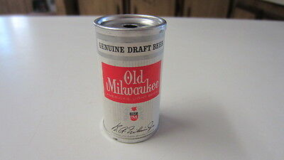 Vintage Old Milwaukee Miniature Beer Can / End Holes for Straws?, 2 1/2 in