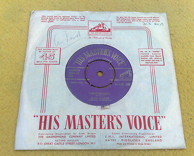 "Elvis Presley  "" Too Much / Playin' For Keeps ""rare Orig Purple Gold Uk Hmv 7"""