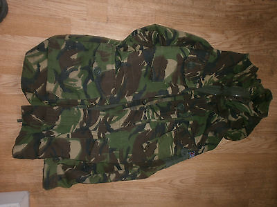 smock combat windproof hooded army jacket