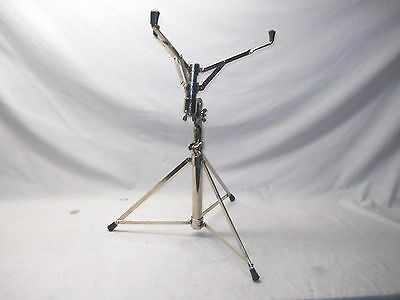 Absolutely Spotless Vintage 1963 Ludwig BUCK ROGERS Nickel Plated Snare Stand
