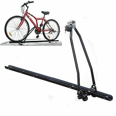 Universal Car Roof Mounted Upright Bicycle Rack Bike Locking Cycle Carrier New