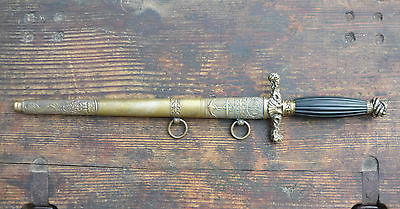 WWI Austro-Hungarian Naval Officer's Dress Parade Dagger KuK Kriegsmarine Dirk