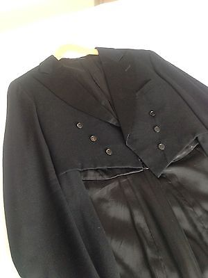 Mens Evening Dress Tails, Waistcoat, Trousers Vintage