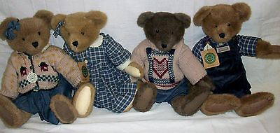 """4 Large Boyds Bears Original Tags Attached All In Excellent Condition 16"""" Tall"""