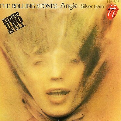 The Rolling Stones, Sg, Angie + 1, Spanish Edit.1973