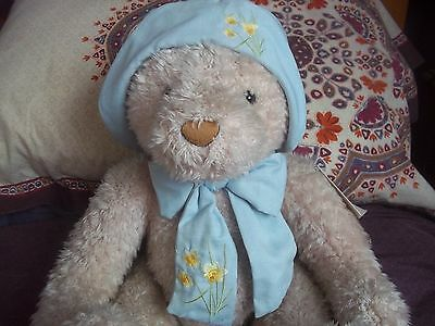 Bnwt New With Tags Harrods Daffodil Large Bear 13""