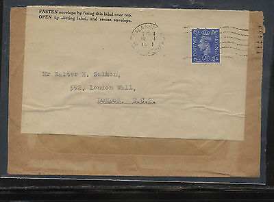 Great  Briatain   reused cover  during the  war          KL0619