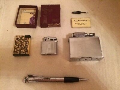 Vintage Lighters & Accessories- Ronson, McMurdo
