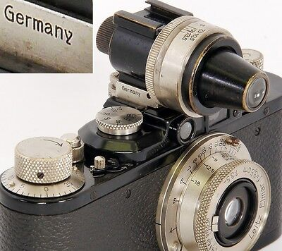 Rare Example of the Nickel VIDOM 3.5-13.5cm LEICA VARIO Finder by LEITZ Wetzlar