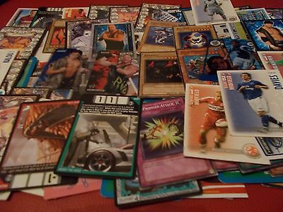 Over 100 Trading Gaming Cards/stickers Super Condition