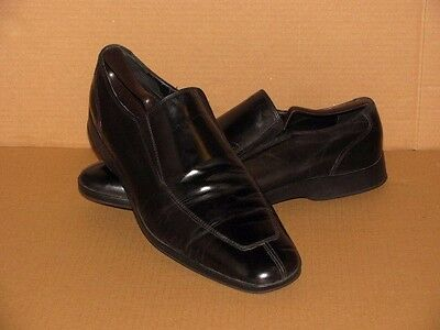 COLE HAAN Men's Split-Toe Nike Air Casual Loafers.  Size:12M.  Color:Black.