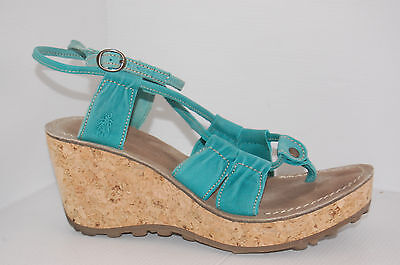Fly London Dama  High Quality Leather Women's Sandals Size UK 6 EUR 39