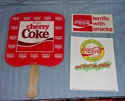Vintage Coca-Cola Advertising Lot #1 Coke
