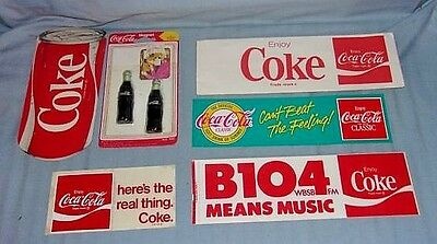 Vintage Coca-Cola Advertising Lot #2 Coke