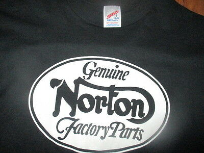 Genuine NORTON Parts GP Motorcycles San Diego Older T Shirt Large MOTORCYCLES