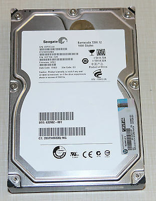 "Seagate Barracuda 7200.12 (ST31000524AS) 1TB SATA 7200rpm 32MB 3.5"" Hard Drive"