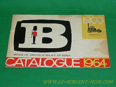 Britains herald rare original catalogue 1964 swoppet plastic toy & metal figure