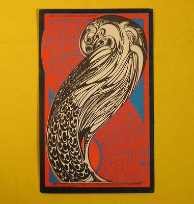 Fillmore Postcard.byrds.moby Grape.andrew Staples.april 1967