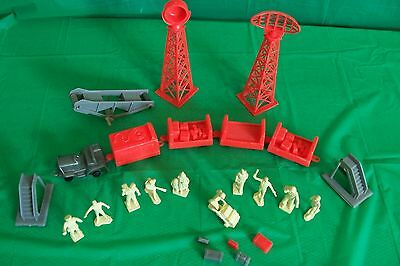 Vintage 1960s Marx International Airport Play set of  Civilian Figures and more