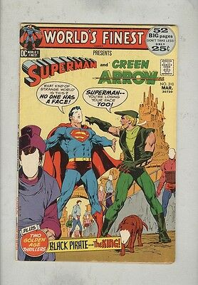 World's Finest #210 March 1972 VG 52-PG Giant
