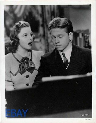Judy Garland Mickey Rooney Strike Up the Band VINTAGE Photo