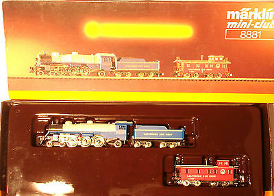 Marklin  Z: 8881 Steamloco with Caboose  *Baltimore & Ohio*