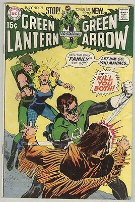 Green Lantern #78 July 1970 VG Neal Adams Art