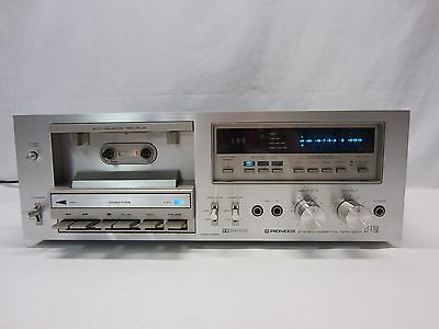 Vintage Pioneer CT-F750 Stereo Cassette Tape Deck NEEDS BELTS or FOR PARTS