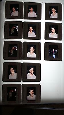 Freddy Rodriguez CANDID VINTAGE  LOT OF 35MM SLIDE TRANSPARENCY PHOTO #