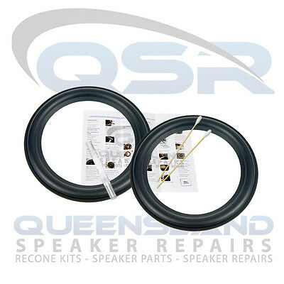 """7"""" Rubber Surround Repair Kit to suit Yamaha Subwoofer - (RS 156-128)"""