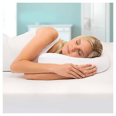 Side Sleeper Pro Air Therapeutic Neck & Back Pillow New
