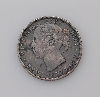 1890 New Foundland 20 Cents Queen Victoria *4081