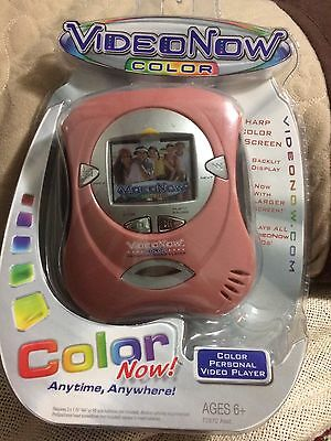 Hasbro VideoNow Color Cream Video Now Personal Video Player New & Sealed