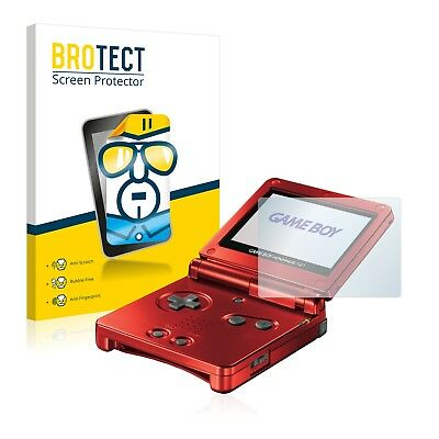 2x BROTECT Screen Protector for Nintendo Gameboy Advance GBA SP Protection Film