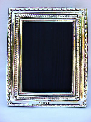 Lovely Finest Quality 999 Silver Hallmarked London & Britannia Marks Photo Frame