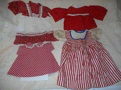 Mixed Lot Of Vintage Doll Clothing