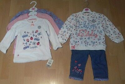 Girls 18-24months NEW Oufit, Jumper,Jeans and Long Sleeve Tops x3