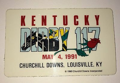 Kentucky Derby 117 May 4, 1991 Churchill Downs Magnet