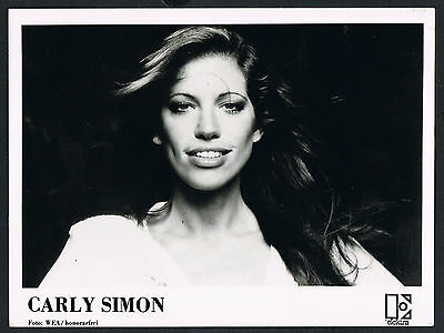 Carly Simon, Sängerin-music-Musik, Songwriter, Pressefoto, press photo /118a