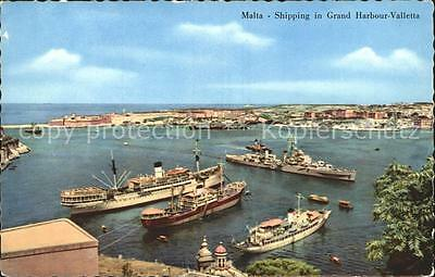 72060340 Malta Shipping in Grand Harbour Valletta
