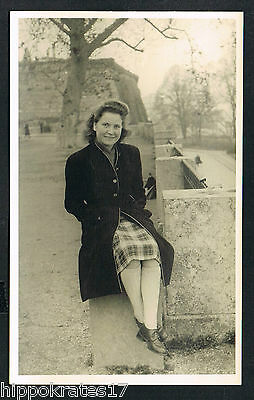 FOTO vintage PHOTO, Damenmode fashion women femmes (77a) snapshot