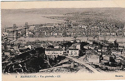 Marseilles - General view - old post card